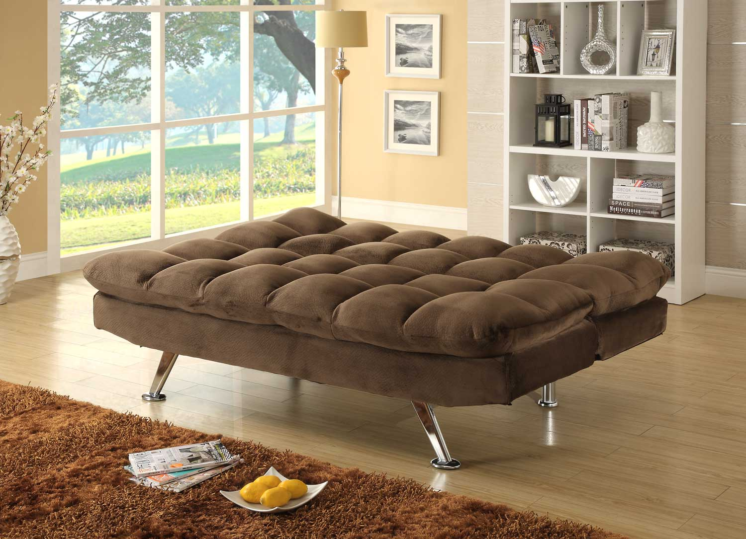 futon click clack sofa bed. Black Bedroom Furniture Sets. Home Design Ideas