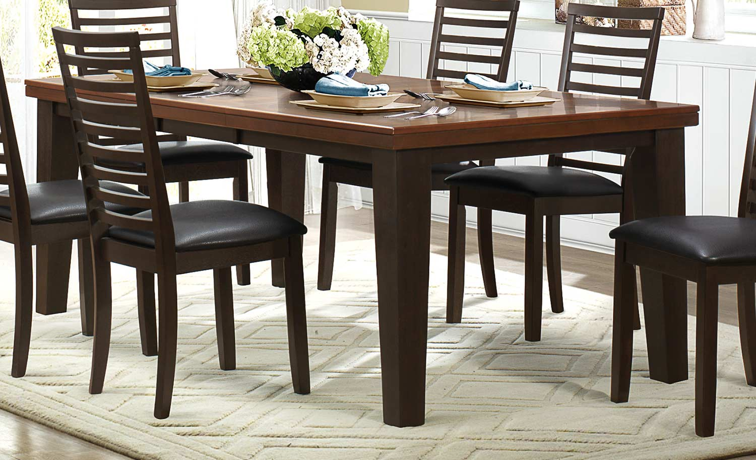 Homelegance Walsh Dining Table - Two-Tone