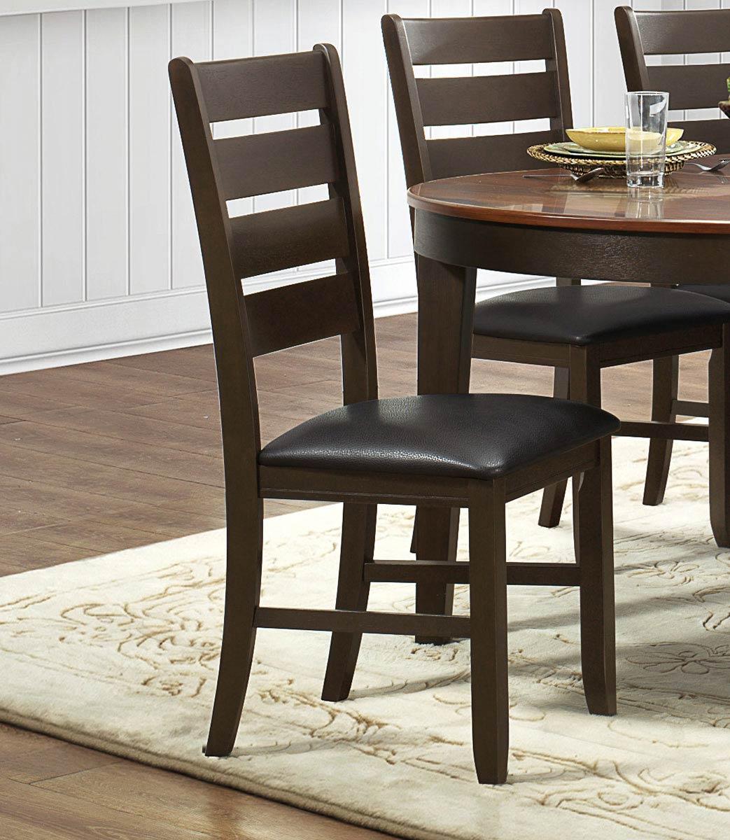 Homelegance Grunwald Side Chair - Dark Brown