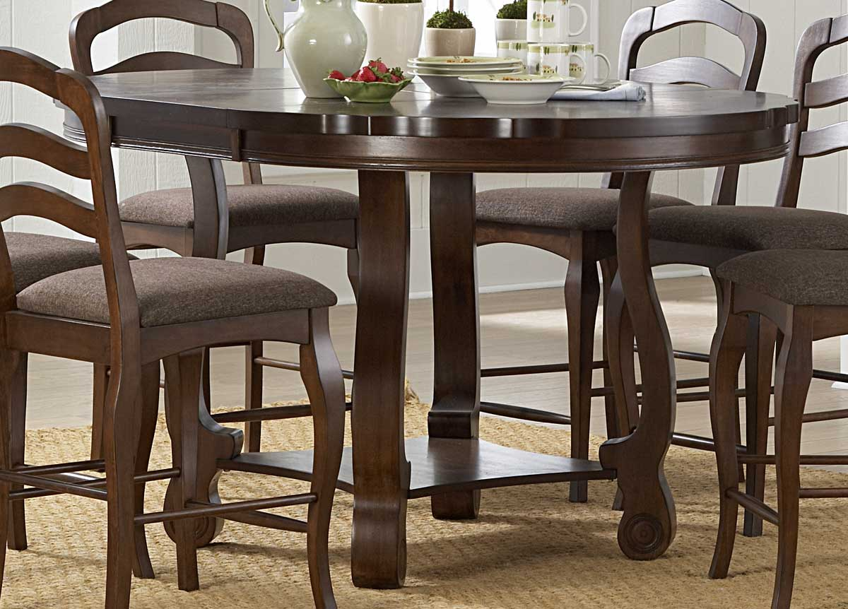 Homelegance Arlington Counter Height Table with Butterfly Leaf