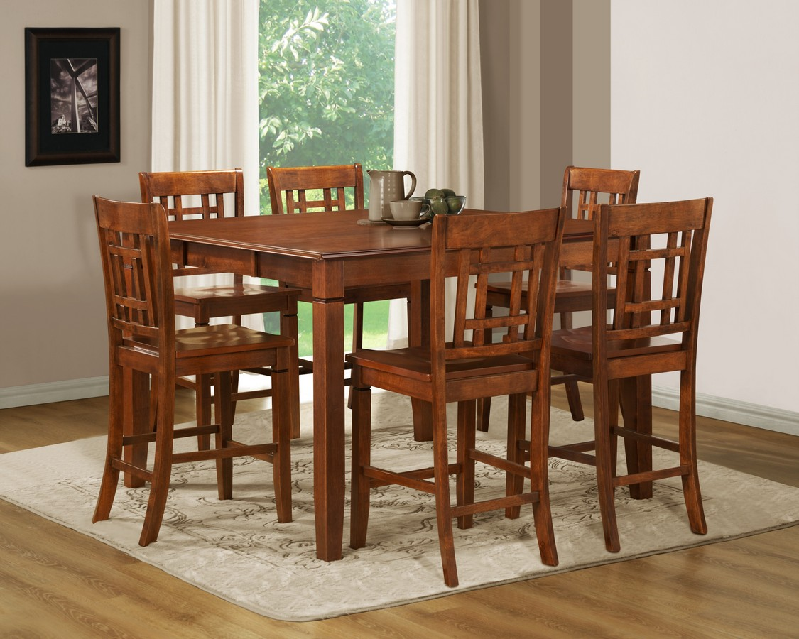 Homelegance gresham counter height dining set d5363 36 din for Counter height dining set