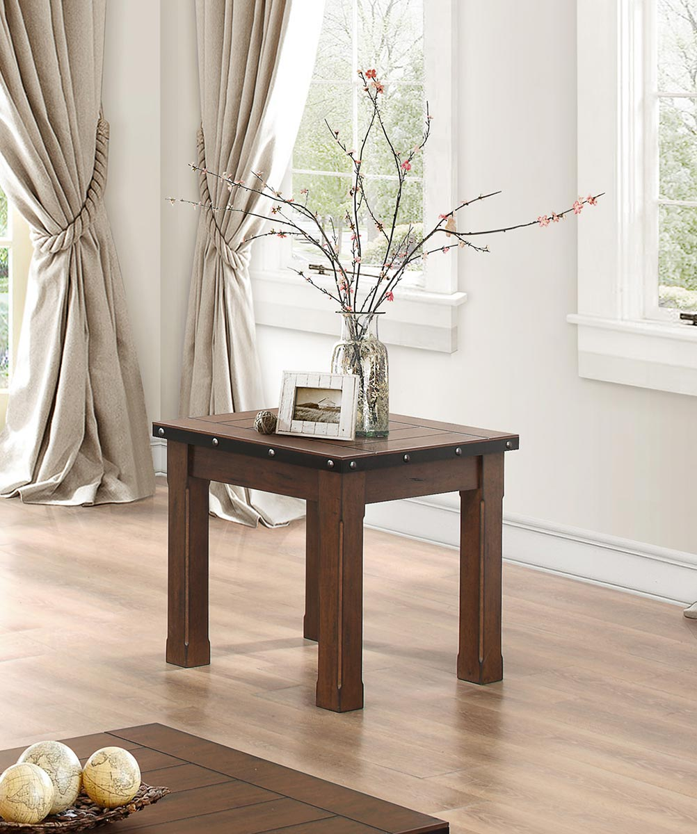 Homelegance Schleiger End Table