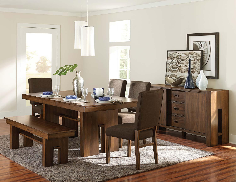 Homelegance Sedley Dining Set - Walnut