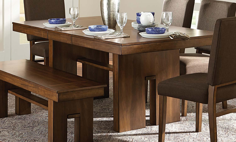 Homelegance Sedley Dining Table - Walnut