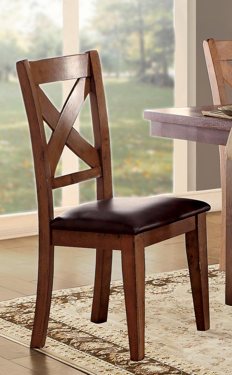 Homelegance Burrillville Side Chair - Oak