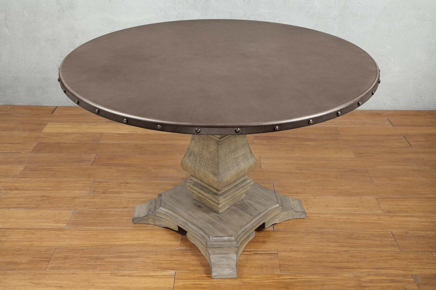 homelegance anna claire round dining table
