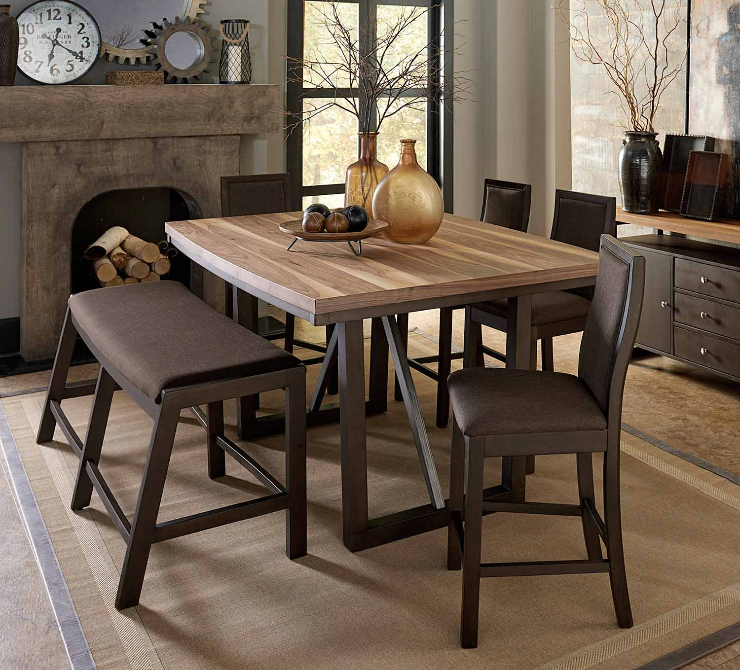 Homelegance Compson Counter Height Dining Set