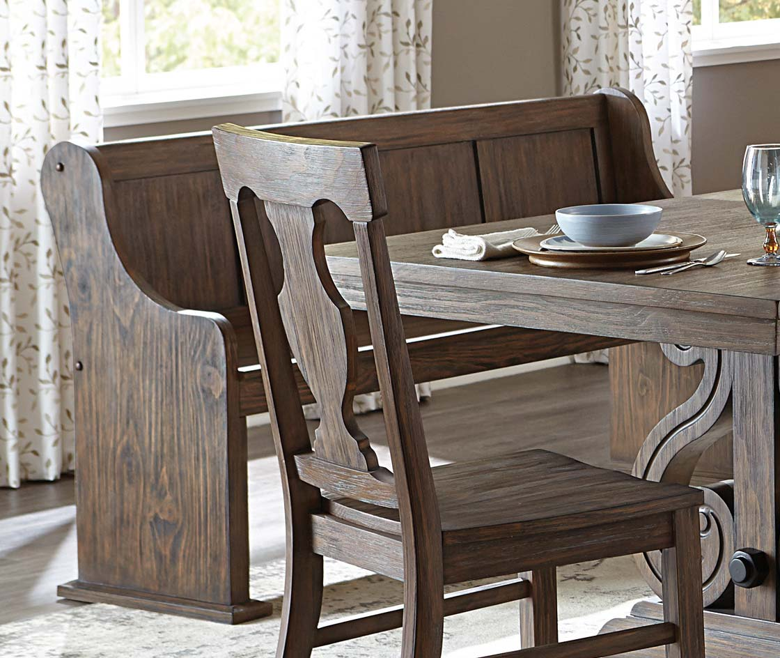Homelegance Toulon 62-inch Bench - Wire Brushed
