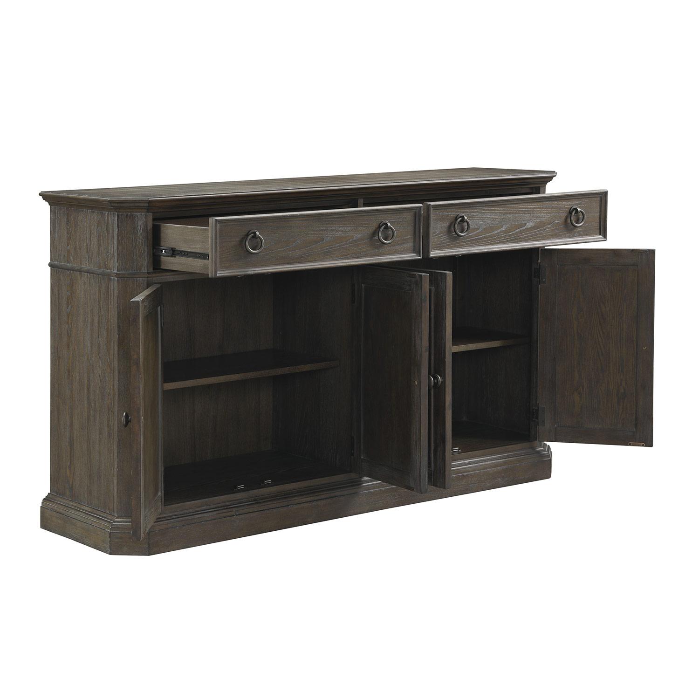 Homelegance Sarasota Server - Driftwood Gray