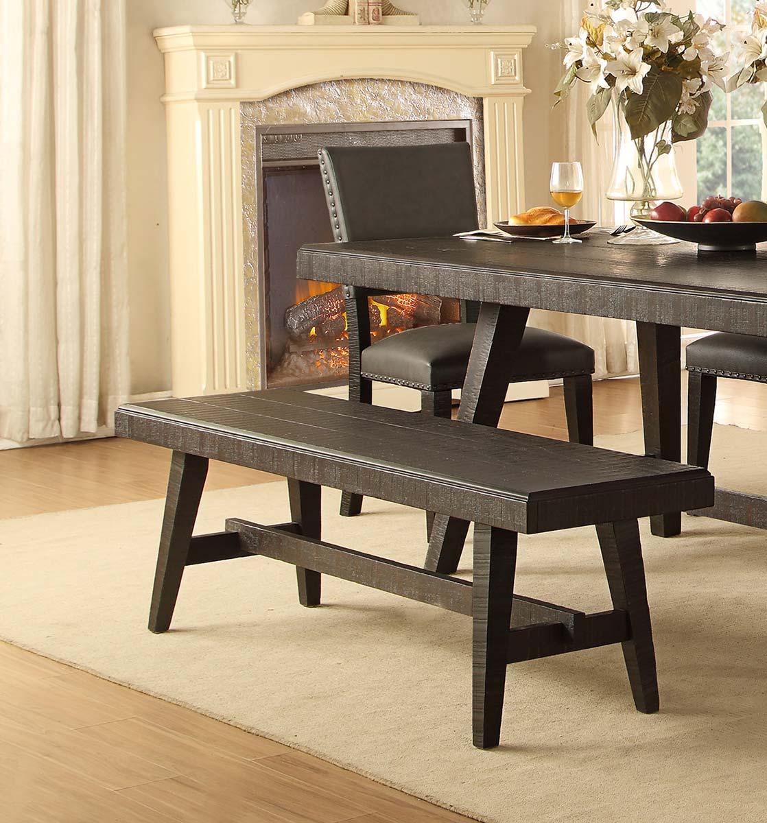 Homelegance Fenwick 60-inch Bench - Dark Gray