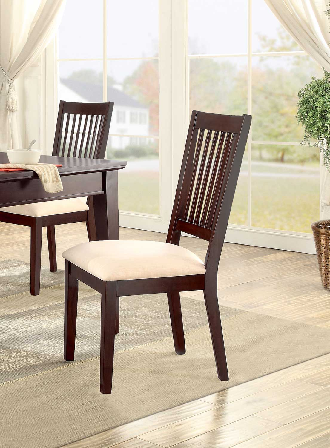 Homelegance Timber Forge Side Chair - Cherry