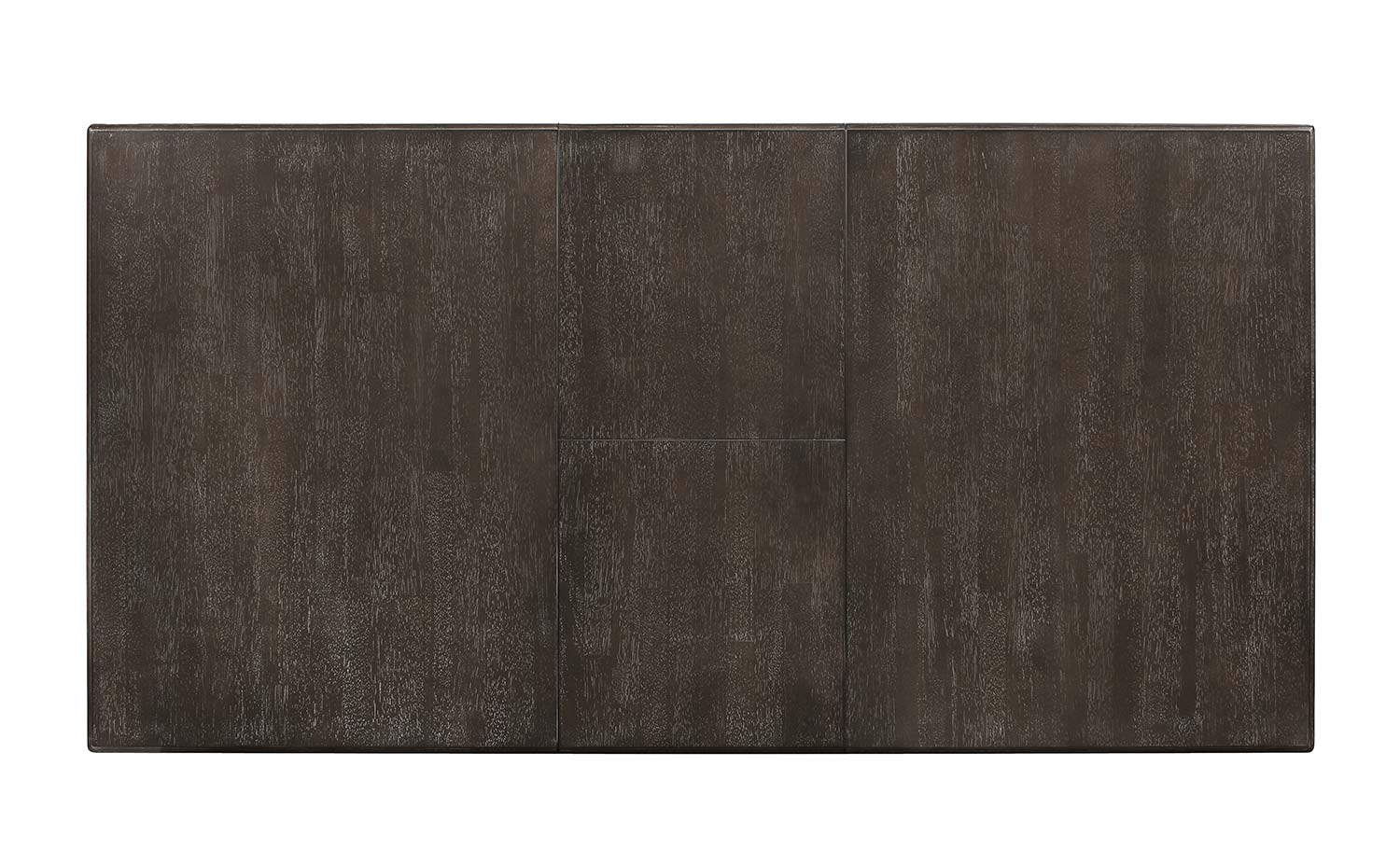 Homelegance Fulbright Rectangular Dining Table with Butterfly Leaf - Weathered Gray Rub Through Finish