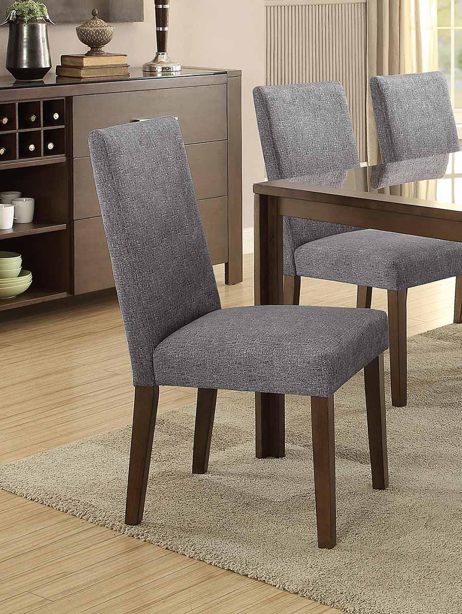 Homelegance Fielding Side Chair - Brown