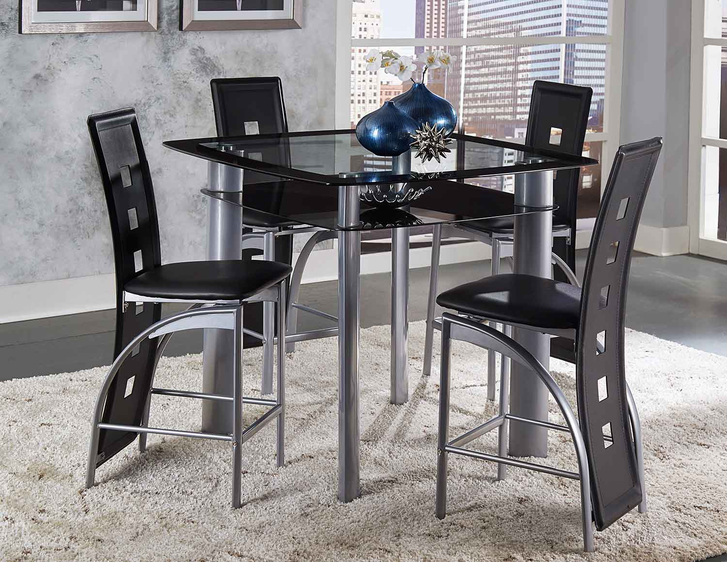 Homelegance Sona Square Counter Height Dining Set