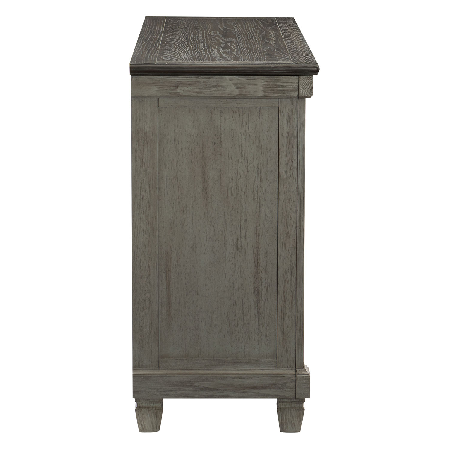 Homelegance Granby Server - Antique Gray and Coffee