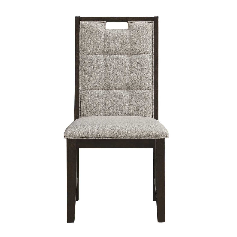 Homelegance Rathdrum Side Chair - Dark Oak
