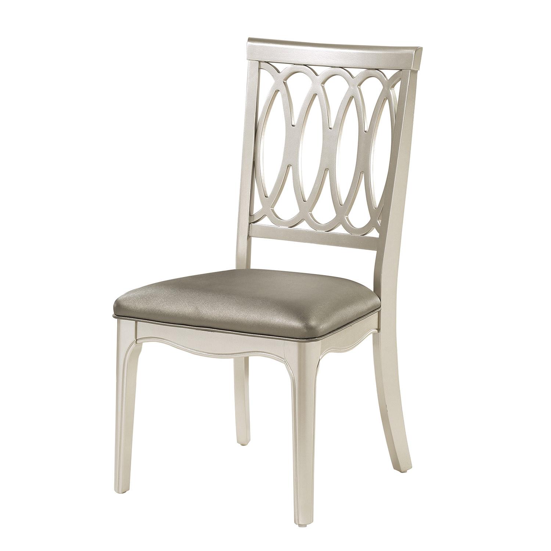 Homelegance Emmeline Side Chair - Silver