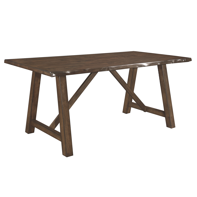 Homelegance Whittaker Dining Table - Light Burnished Brown
