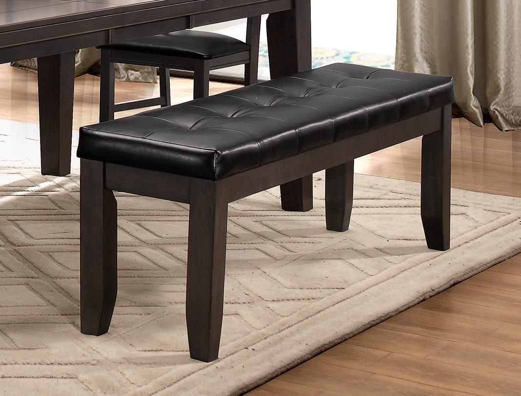 Homelegance Ameillia 60-inch Bench - Grey/Brown