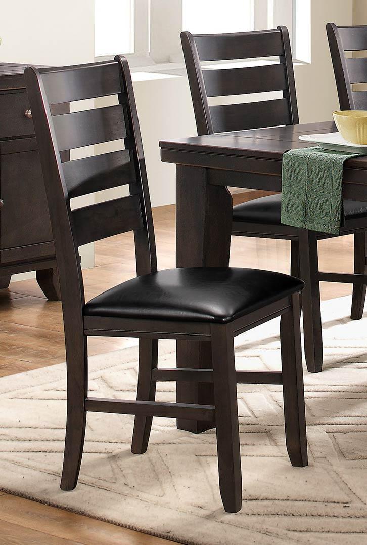 Homelegance Ameillia Side Chair - Grey/Brown
