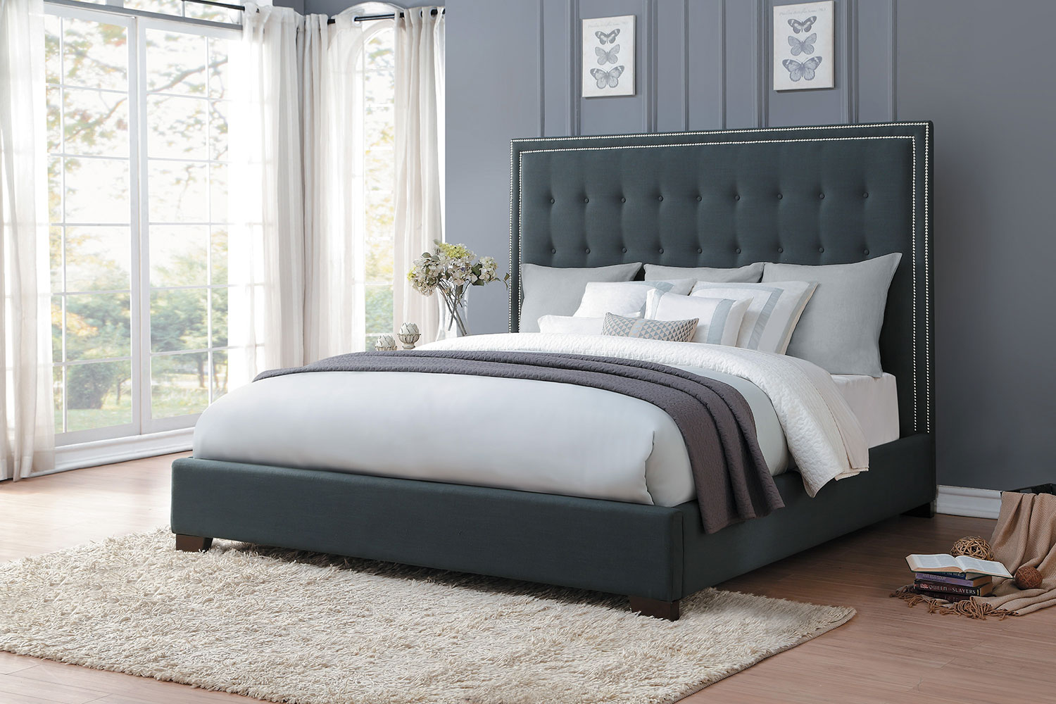 Homelegance Jervis Upholstered Bed