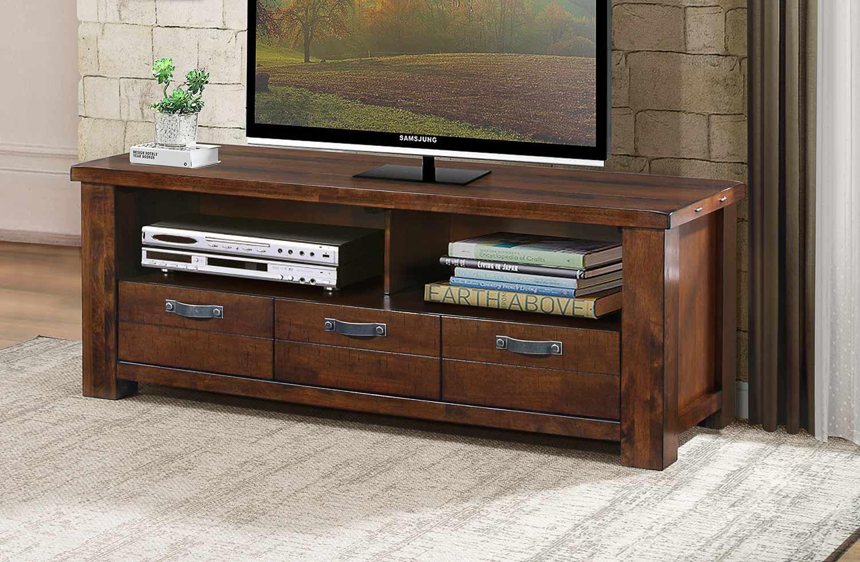 Homelegance Santos 58-inch TV Stand - Natural Brown