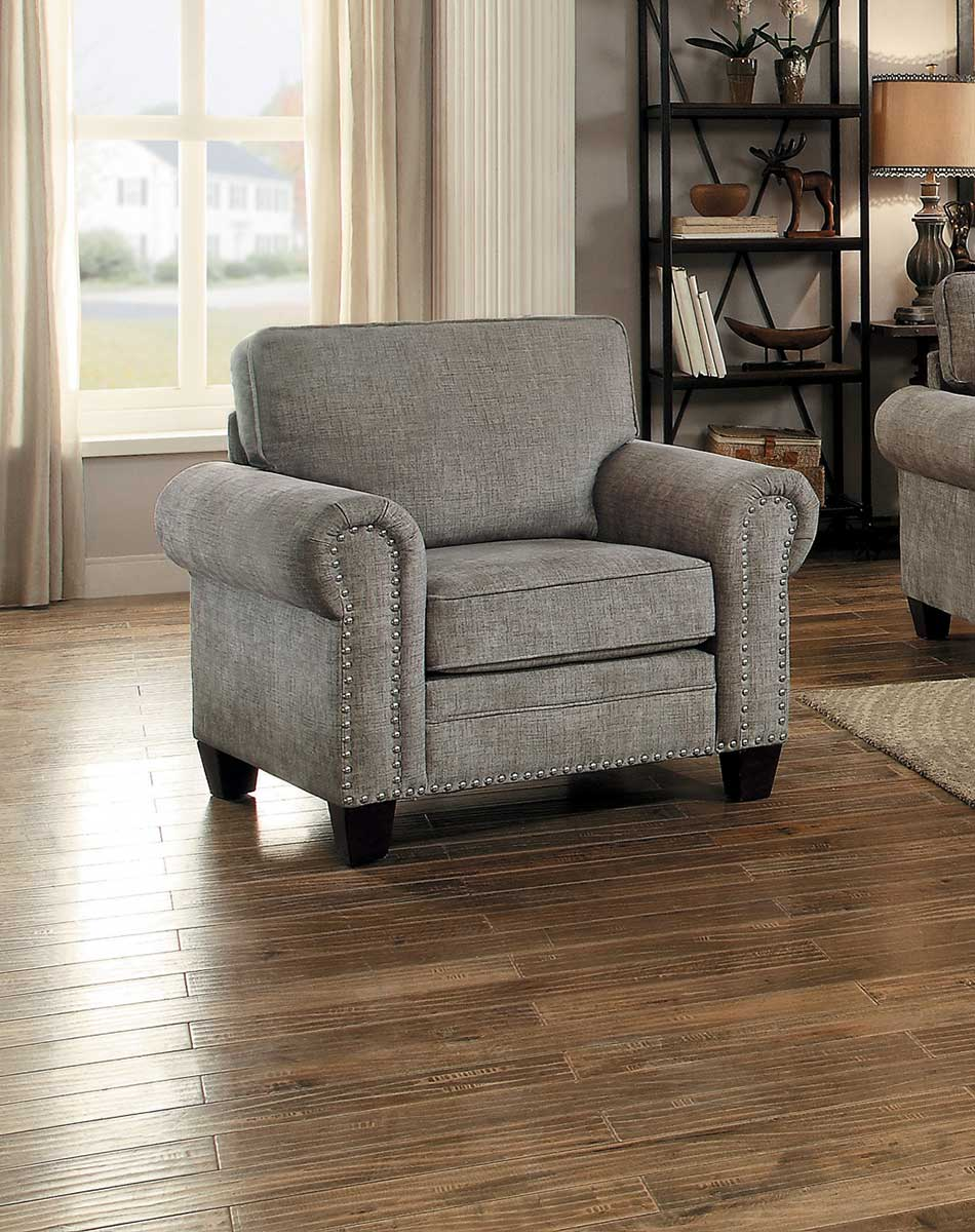 Homelegance Cornelia Chair - Sand Fabric