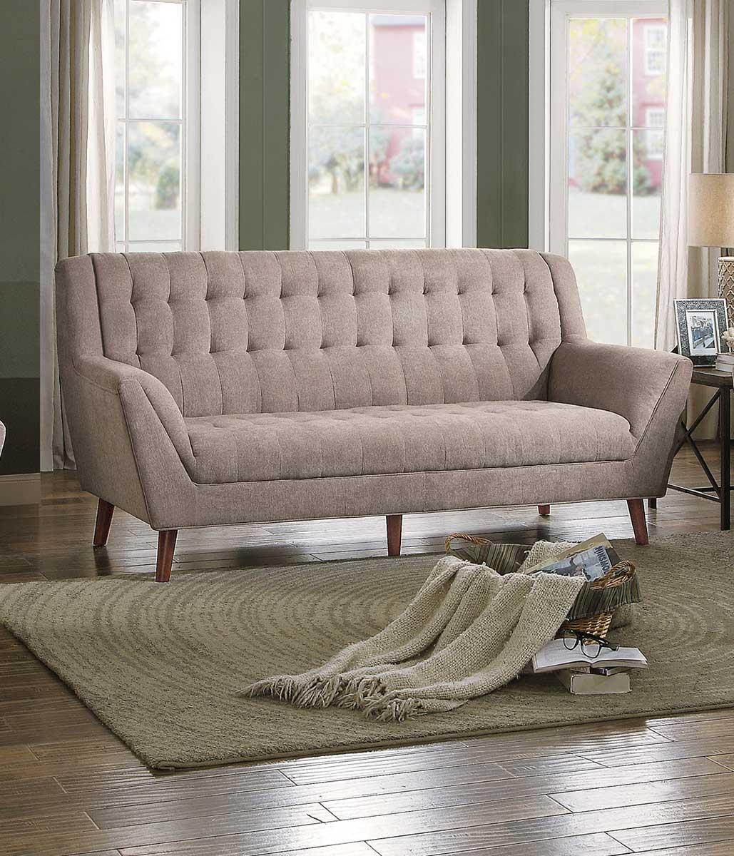 Homelegance Erath Sofa - Sand Fabric