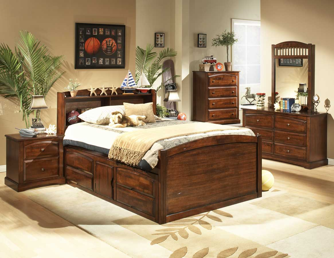 Homelegance Truckee Captains Bed with Understorage