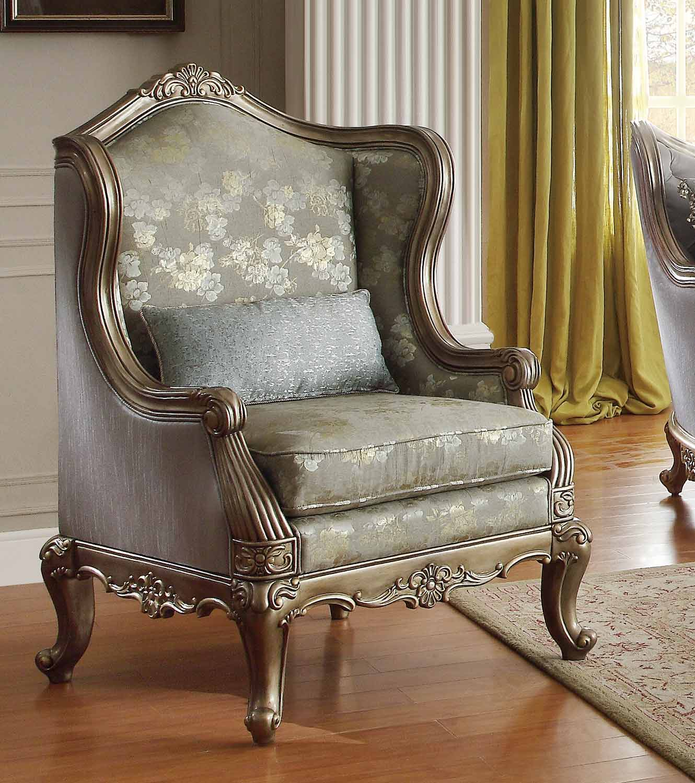 Homelegance Fiorella Chair - Dusky Taupe