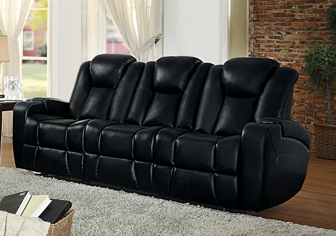 center reclining with holder drop cup sofa double down homelegance w marille brown leather recliner in hm holders