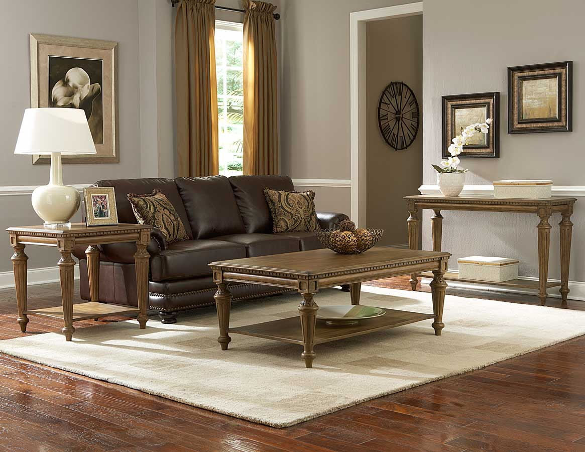 Homelegance Eastover Occasional Table Set - Neutral Gray Diftwood