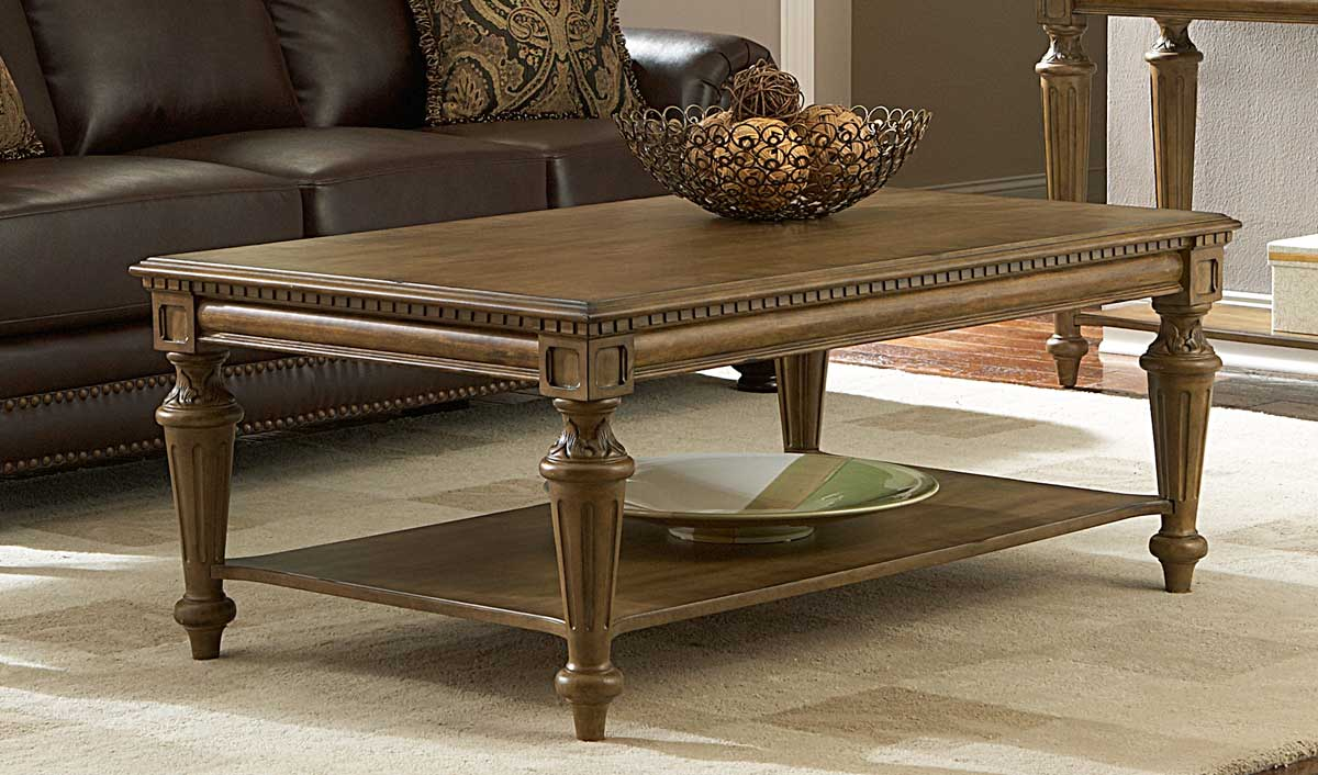Homelegance Eastover Cocktail Table - Neutral Gray Diftwood