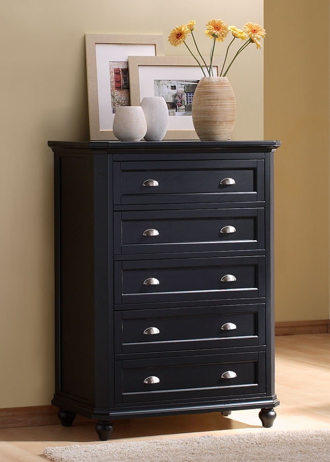Homelegance Hanna Chest in Black