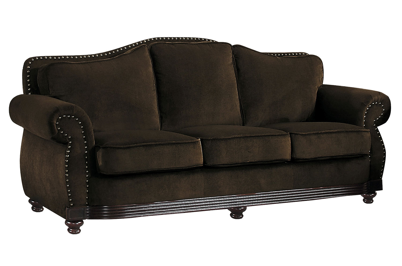 Homelegance Midwood Sofa - Chocolate Chenille