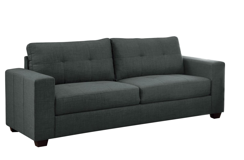 Homelegance Ashmont Sofa - Polyester - Dark Grey