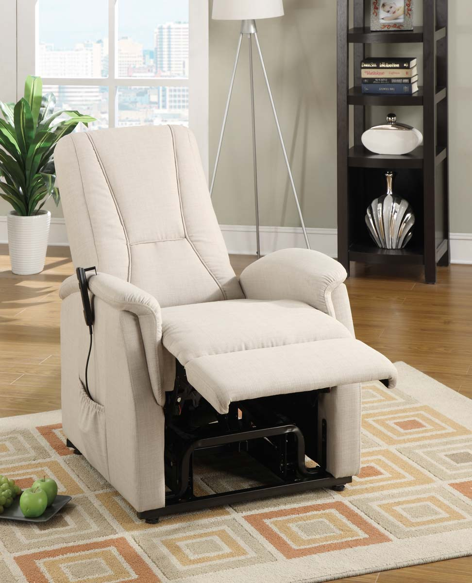 Homelegance Glenson Power Lift Chair - Beige - Linen & Homelegance Glenson Power Lift Chair - Beige - Linen 9644BE-1LT ... islam-shia.org
