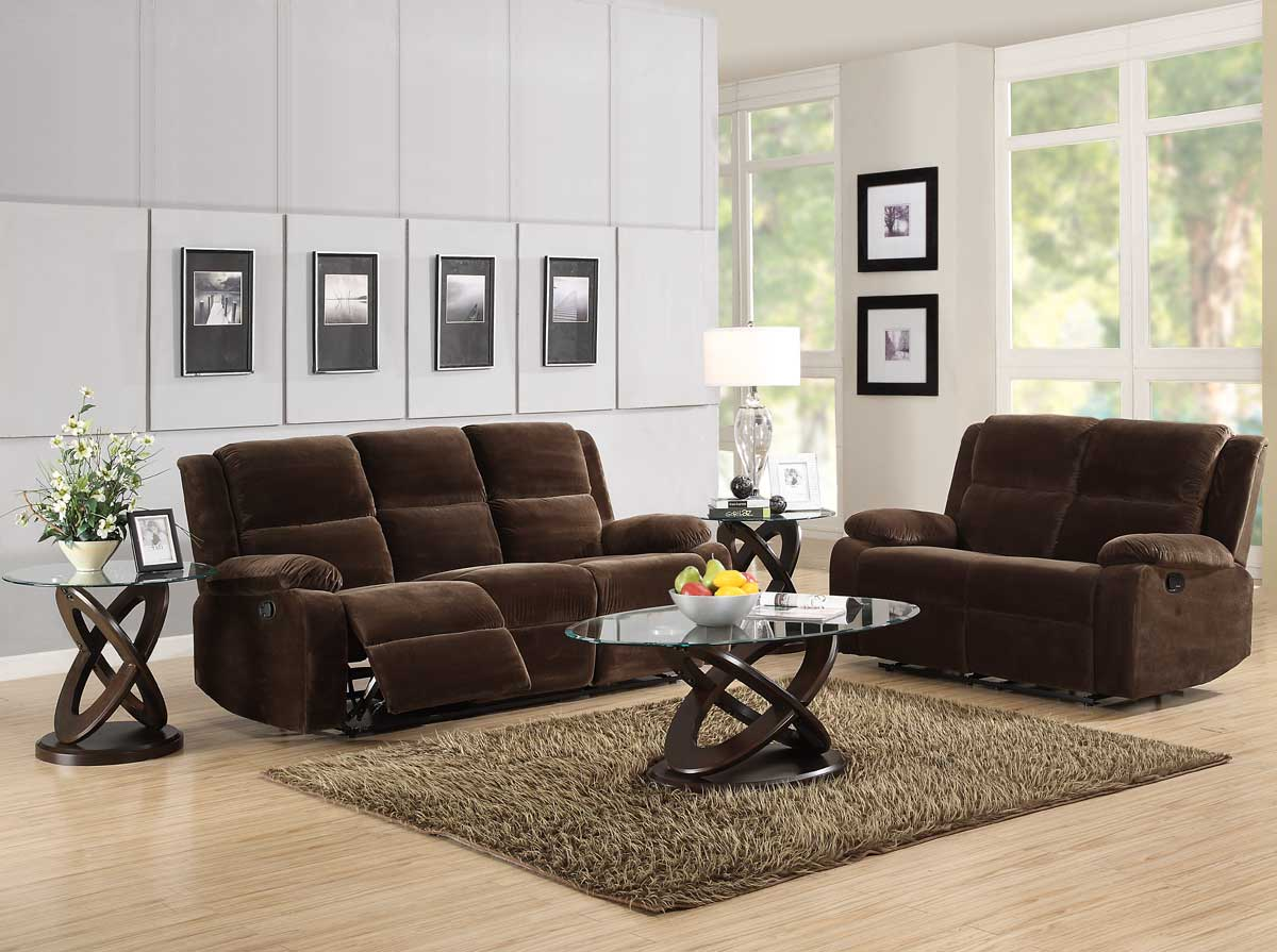 microfiber reclining living room sets best living room