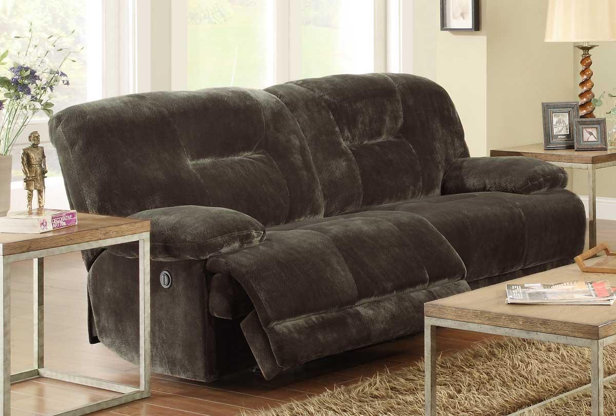 Homelegance Geoffrey Power Double Reclining Sofa