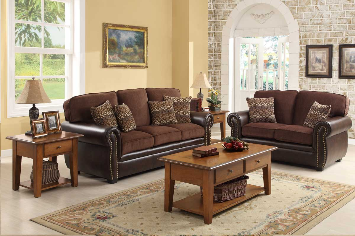 Chocolate Brown Living Room Set Modern House