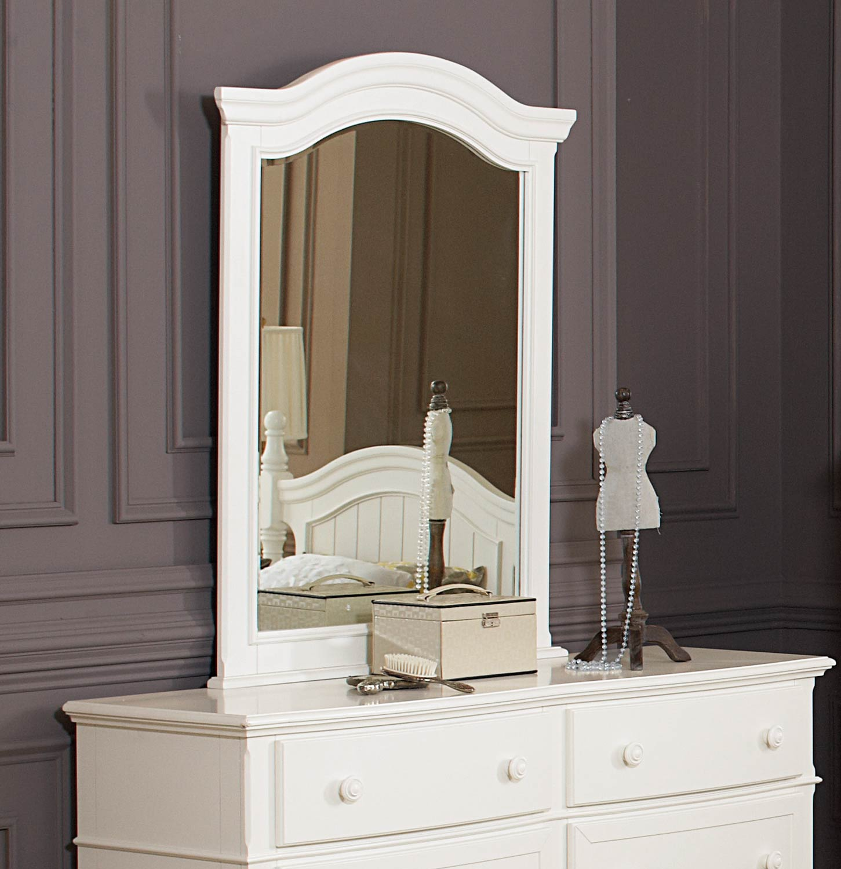 Homelegance Clementine Mirror - White