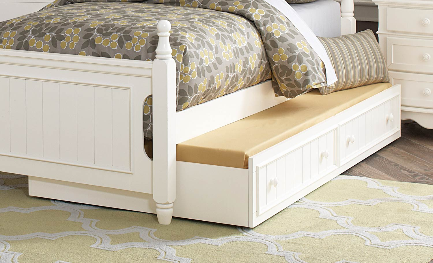 Homelegance Clementine Twin Trundle - White