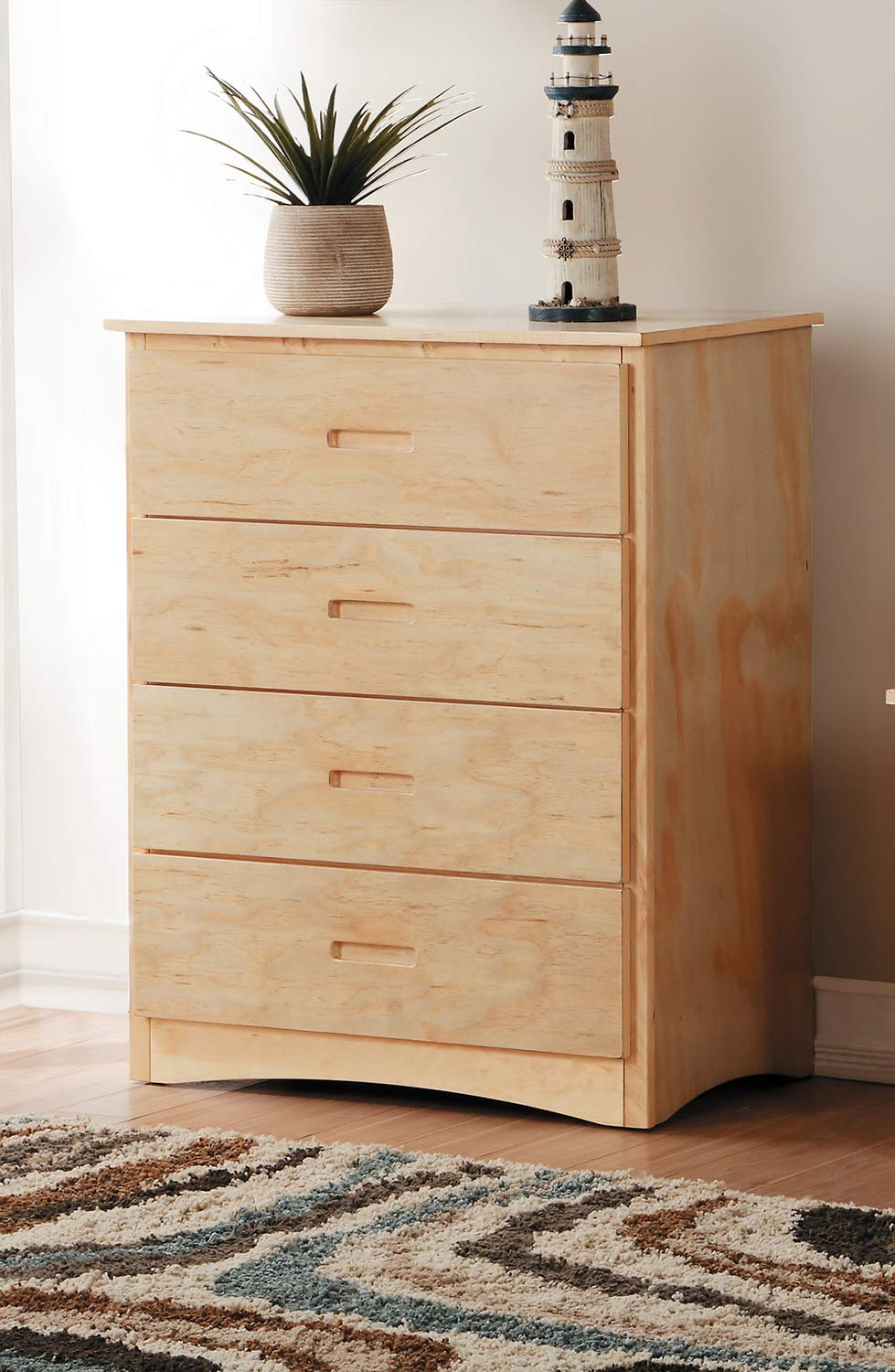 Homelegance Bartly Chest - Natural Pine