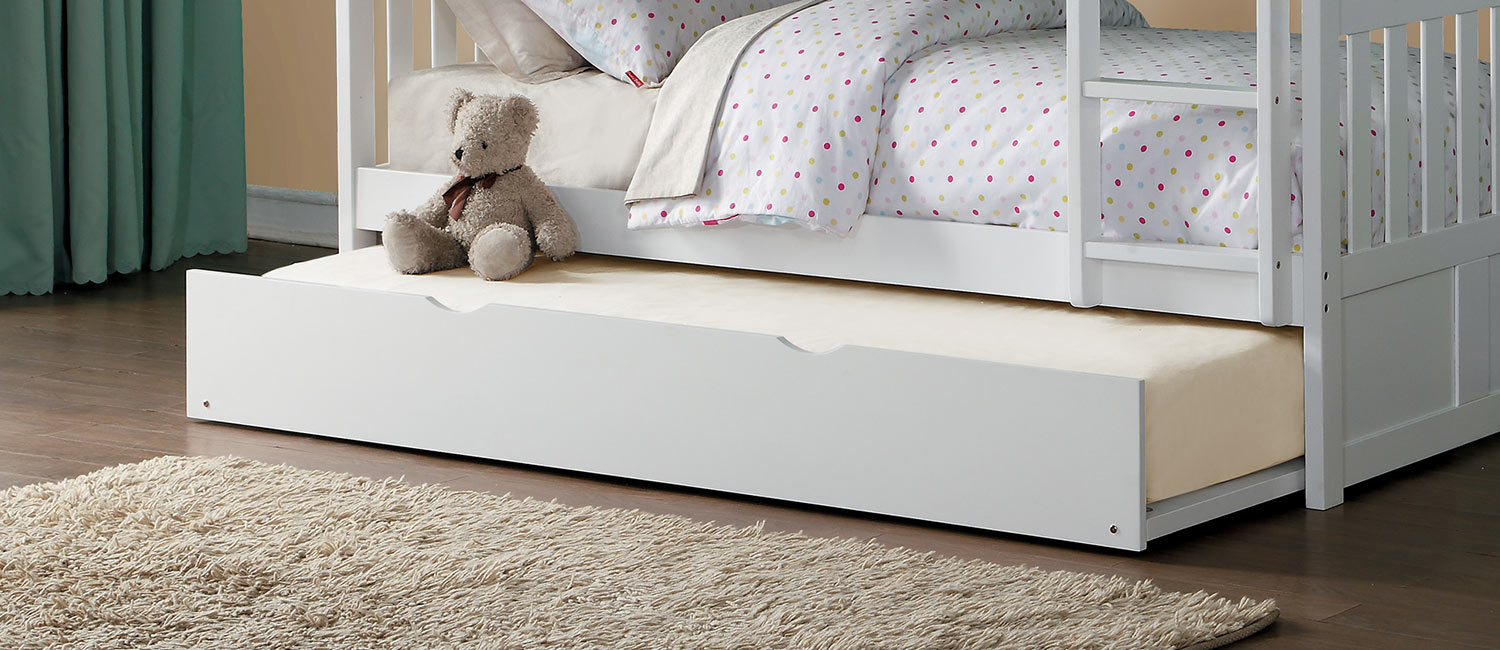 Homelegance Galen Twin Trundle - White
