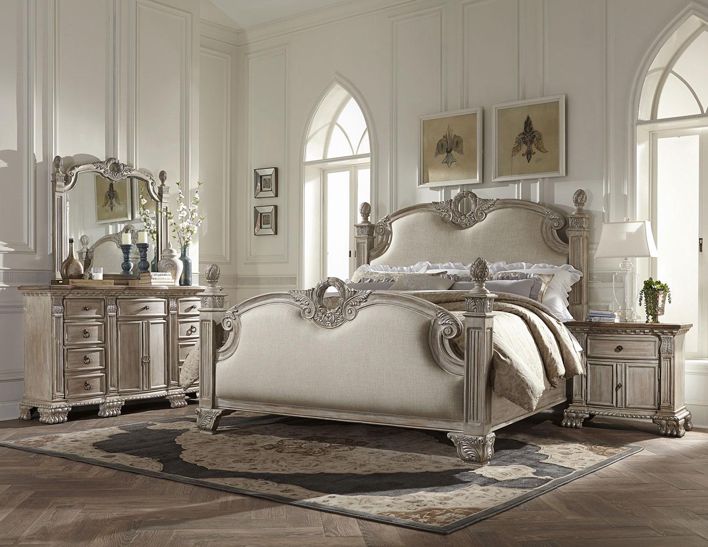 Homelegance Orleans II Bedroom Set - White Wash