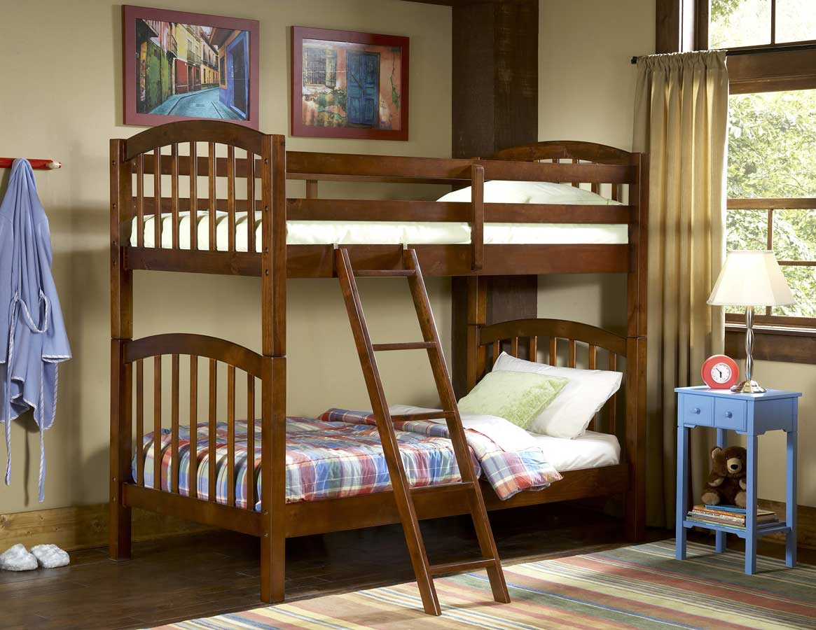 Homelegance Michael Pine Bunk Bed