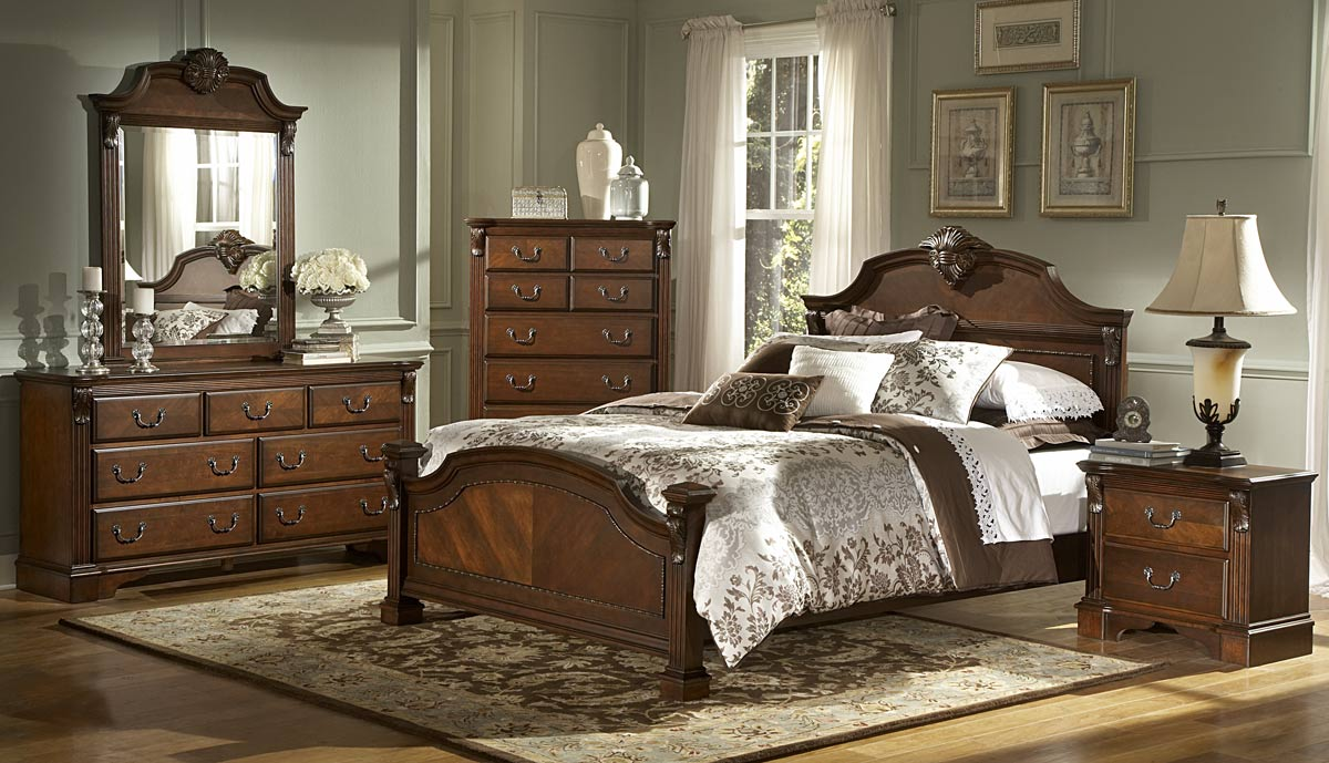 Homelegance Legacy Bed   Brown Cherry. Homelegance Legacy Bed   Brown Cherry 866NC 1