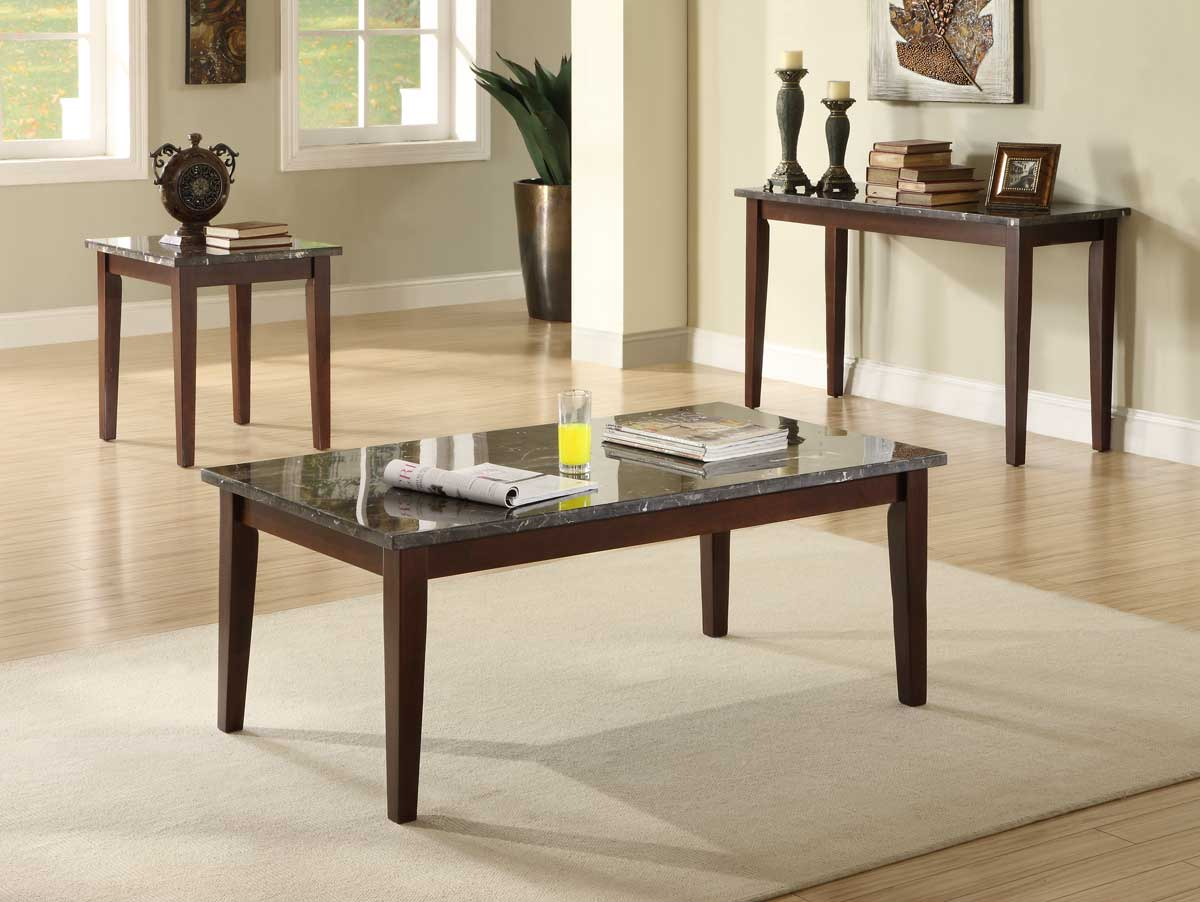 Homelegance Decatur Occasional Set - Espresso