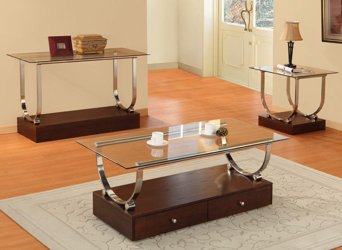 Homelegance Quigley Occasionals Coffee Table Set