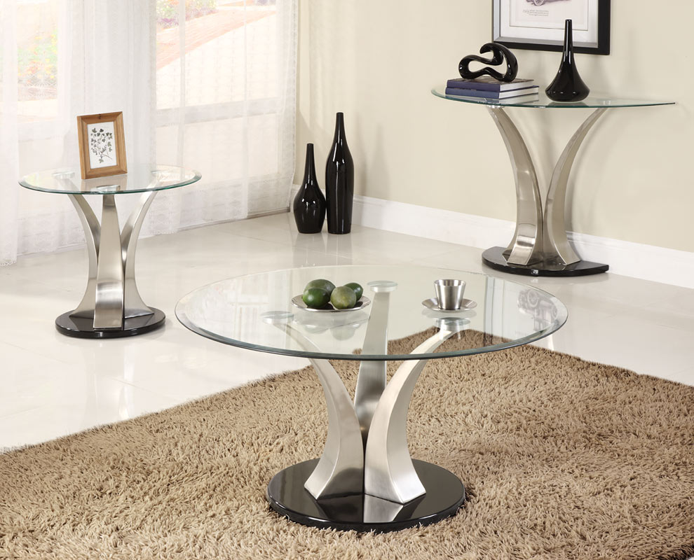 Homelegance Charlaine Round Cocktail Table